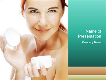 Skin care PowerPoint Templates - Slide 1