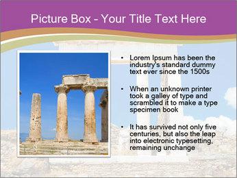 Greek Temple Ruins PowerPoint Template - Slide 13