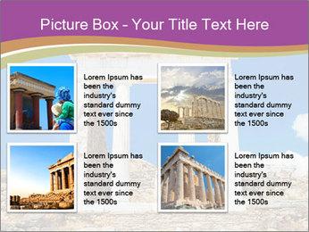 Greek Temple Ruins PowerPoint Template - Slide 14