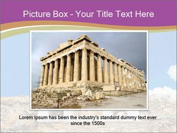 Greek Temple Ruins PowerPoint Template - Slide 15
