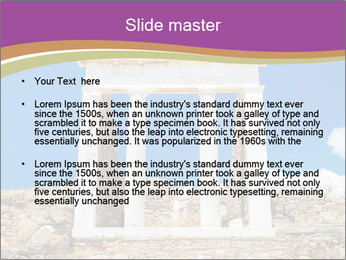 Greek Temple Ruins PowerPoint Template - Slide 2