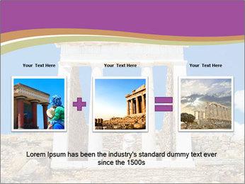 Greek Temple Ruins PowerPoint Template - Slide 22