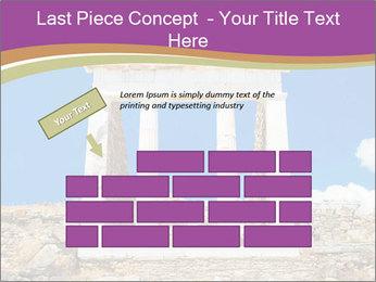 Greek Temple Ruins PowerPoint Template - Slide 46