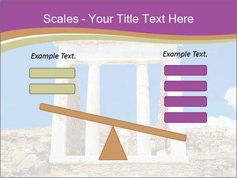Greek Temple Ruins PowerPoint Template - Slide 89