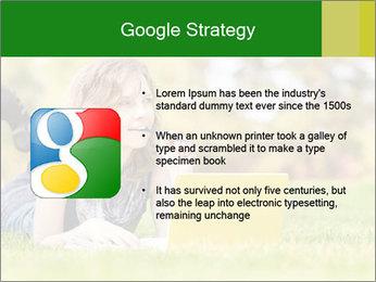 Woman lies PowerPoint Templates - Slide 10