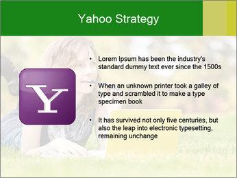 Woman lies PowerPoint Templates - Slide 11
