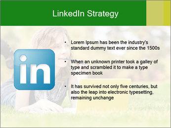 Woman lies PowerPoint Templates - Slide 12