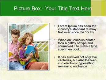 Woman lies PowerPoint Templates - Slide 13