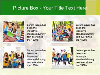 Woman lies PowerPoint Templates - Slide 14