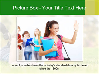 Woman lies PowerPoint Templates - Slide 16