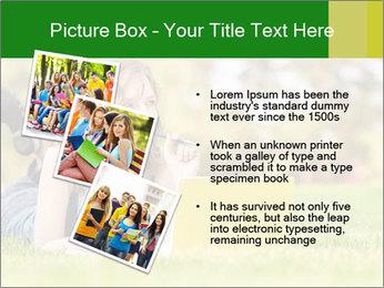 Woman lies PowerPoint Templates - Slide 17