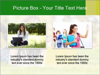Woman lies PowerPoint Templates - Slide 18