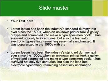Woman lies PowerPoint Templates - Slide 2