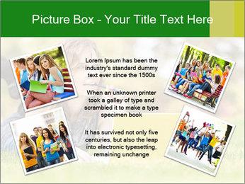 Woman lies PowerPoint Templates - Slide 24