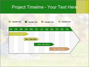 Woman lies PowerPoint Templates - Slide 25