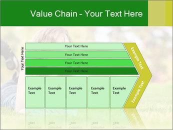 Woman lies PowerPoint Templates - Slide 27
