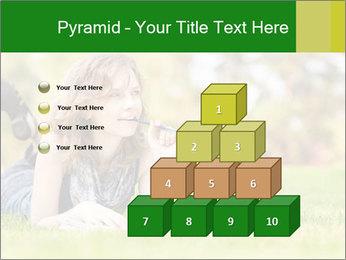 Woman lies PowerPoint Templates - Slide 31