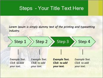 Woman lies PowerPoint Templates - Slide 4