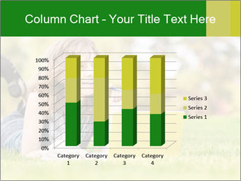 Woman lies PowerPoint Templates - Slide 50