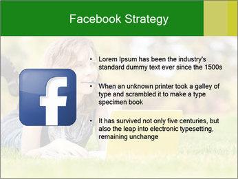 Woman lies PowerPoint Templates - Slide 6