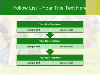 Woman lies PowerPoint Templates - Slide 60
