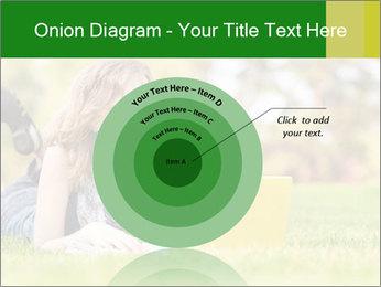 Woman lies PowerPoint Templates - Slide 61