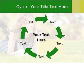 Woman lies PowerPoint Templates - Slide 62
