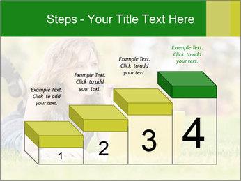 Woman lies PowerPoint Templates - Slide 64