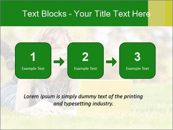 Woman lies PowerPoint Templates - Slide 71