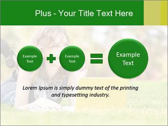 Woman lies PowerPoint Templates - Slide 75