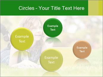 Woman lies PowerPoint Templates - Slide 77