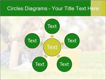 Woman lies PowerPoint Templates - Slide 78