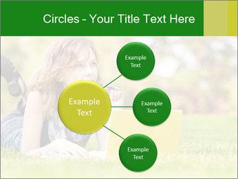 Woman lies PowerPoint Templates - Slide 79