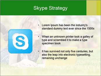 Woman lies PowerPoint Templates - Slide 8