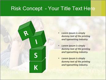 Woman lies PowerPoint Templates - Slide 81