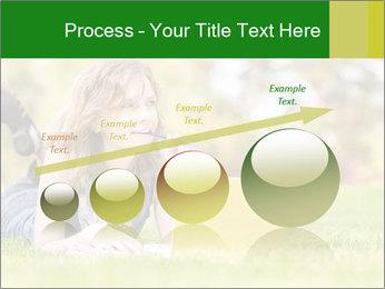 Woman lies PowerPoint Templates - Slide 87