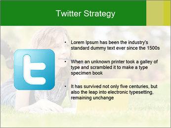 Woman lies PowerPoint Templates - Slide 9