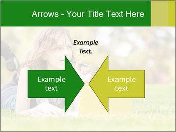 Woman lies PowerPoint Templates - Slide 90