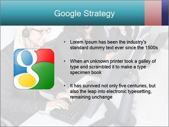 Customer service people PowerPoint Template - Slide 10