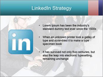Customer service people PowerPoint Template - Slide 12