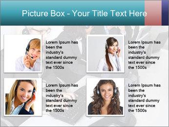 Customer service people PowerPoint Template - Slide 14