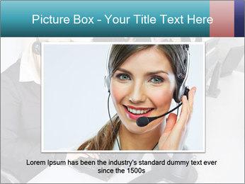 Customer service people PowerPoint Template - Slide 15