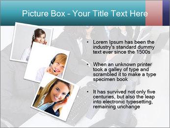 Customer service people PowerPoint Template - Slide 17