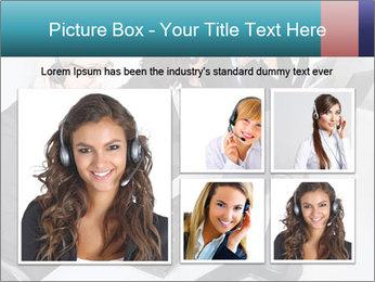 Customer service people PowerPoint Template - Slide 19