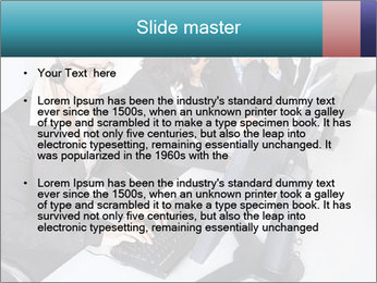 Customer service people PowerPoint Template - Slide 2