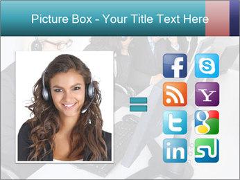 Customer service people PowerPoint Template - Slide 21