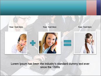 Customer service people PowerPoint Template - Slide 22