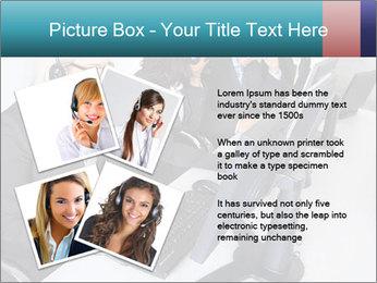 Customer service people PowerPoint Template - Slide 23