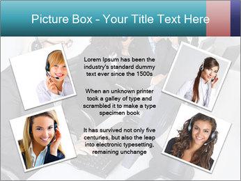 Customer service people PowerPoint Template - Slide 24