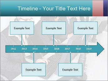 Customer service people PowerPoint Template - Slide 28